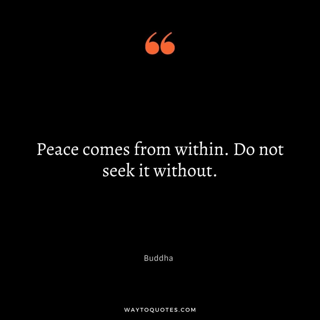 Quotes about finding Peace