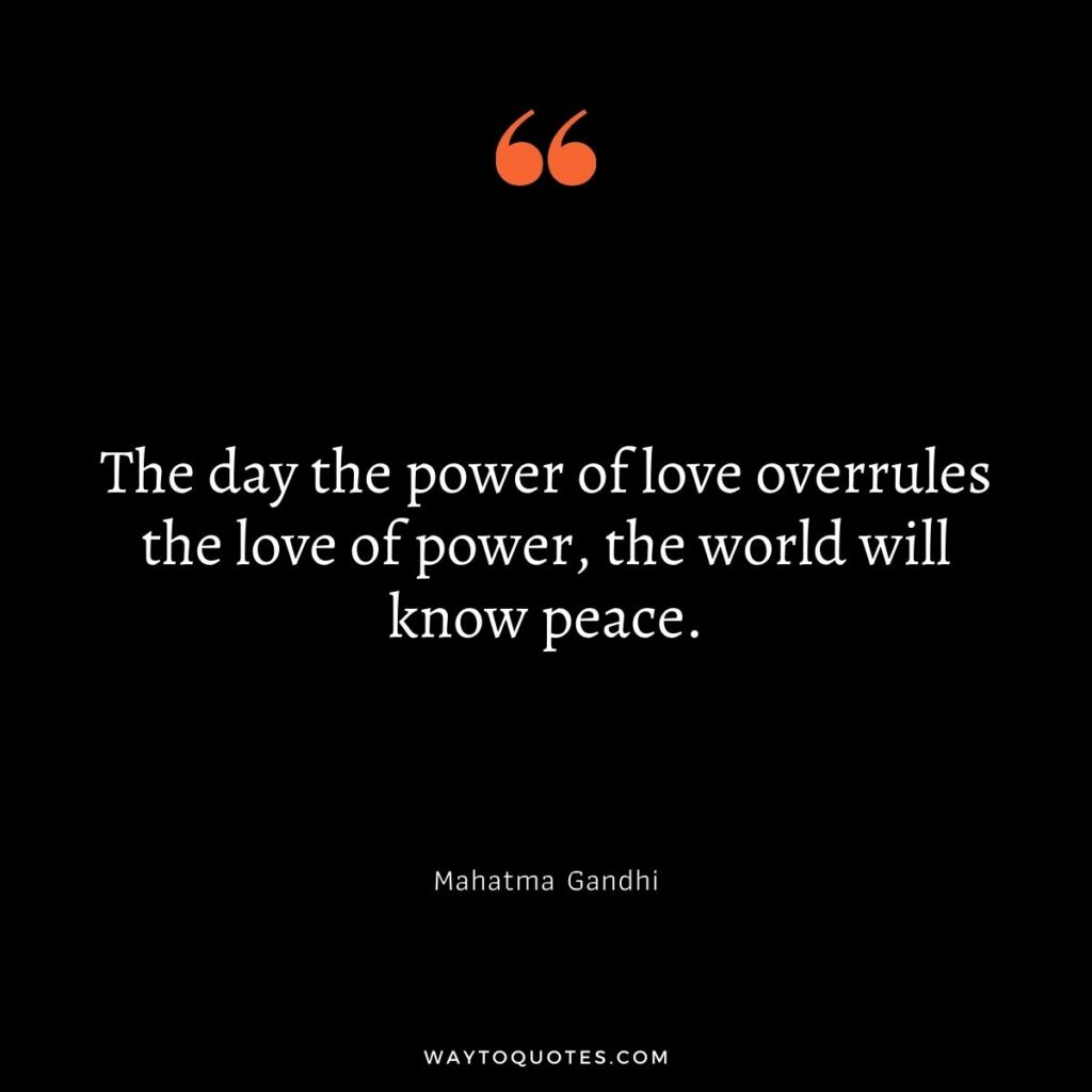 Best Peace Quotes