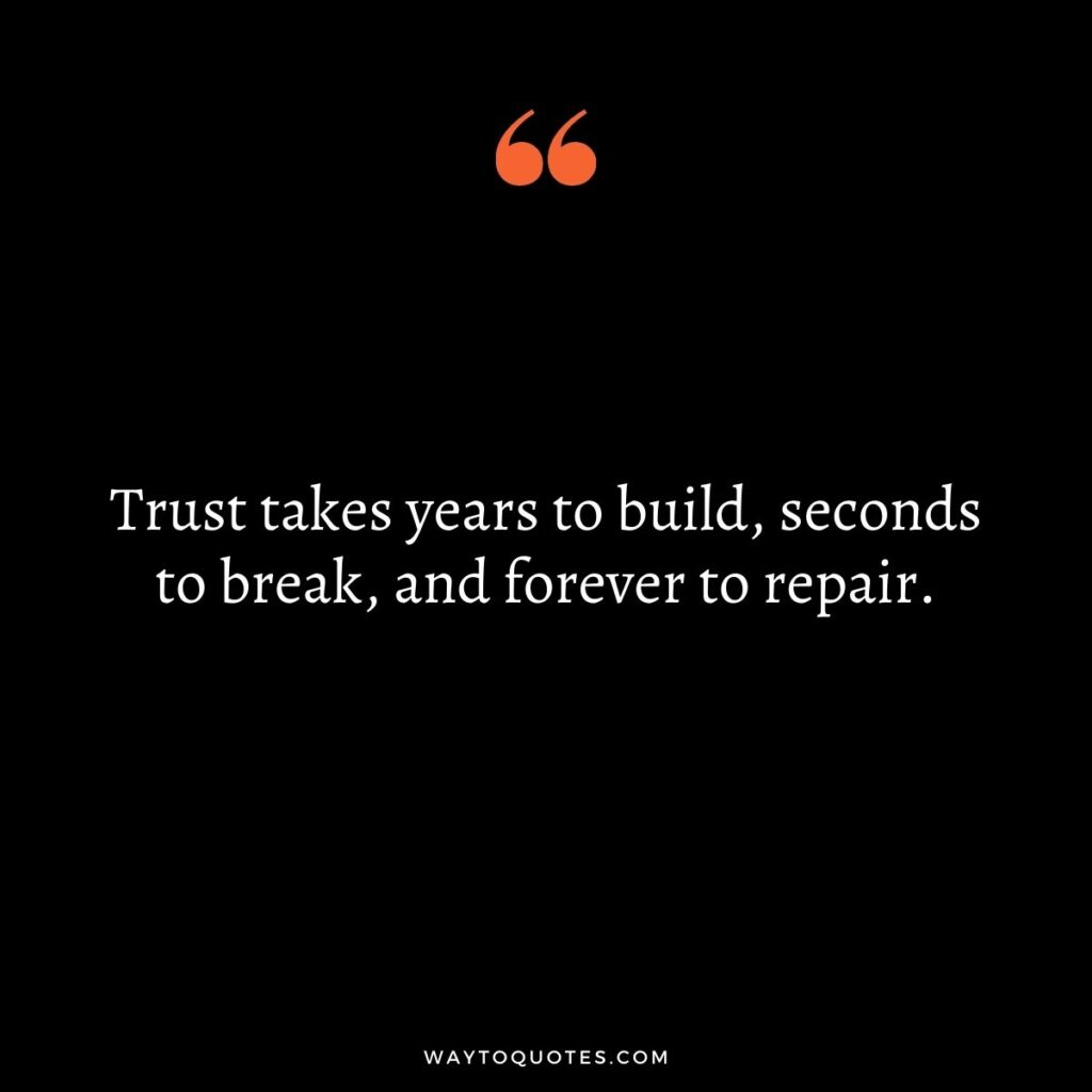 Most Famous Trust Quotes