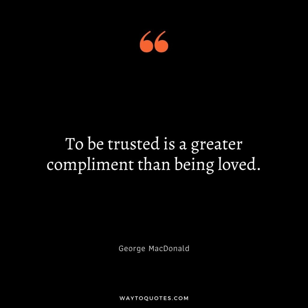 Trust Quotes for Relationship