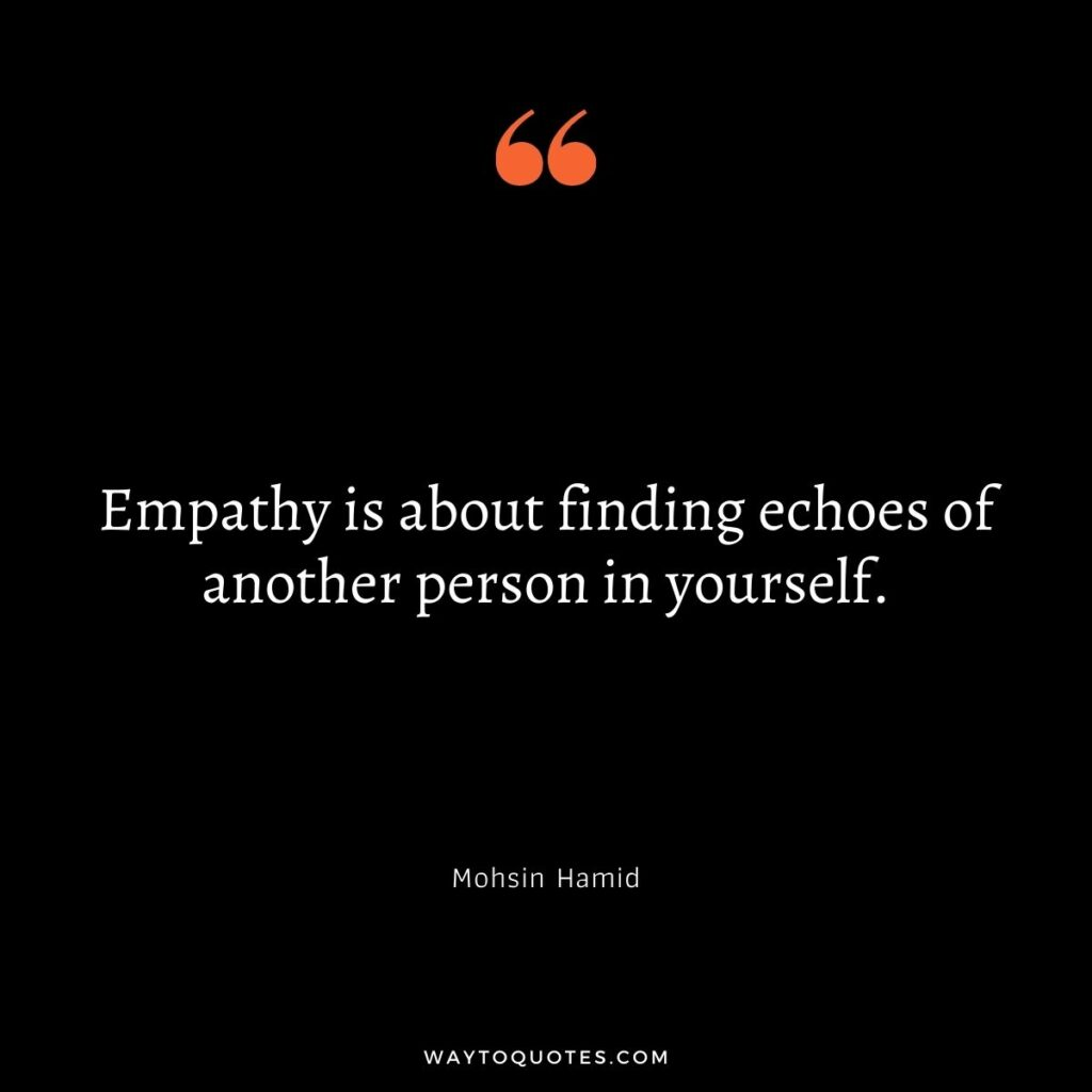 Inspirational Quotes on empathy